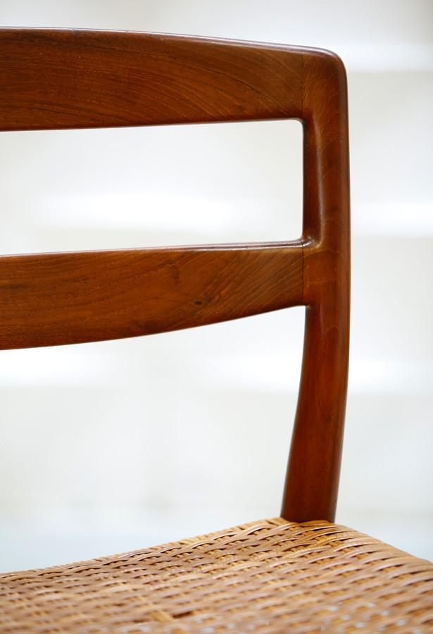 Set de 4 sillas años 50