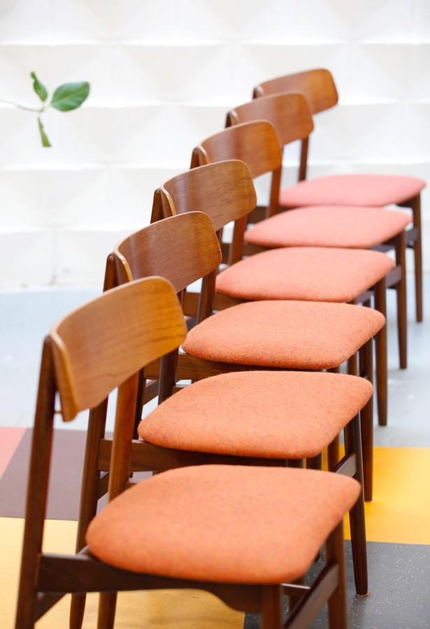 Set de 6 sillas años 50