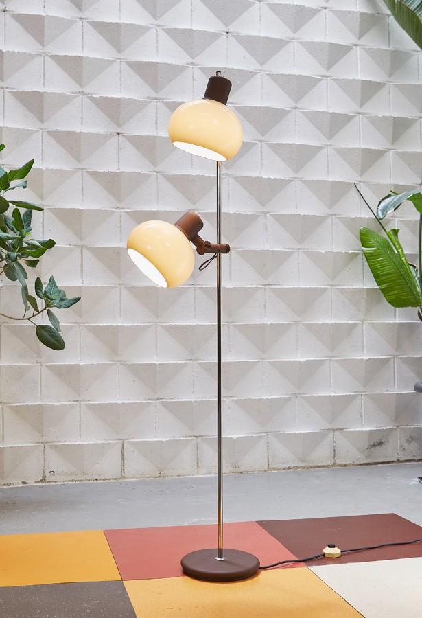 Lámpara de suelo años 70
