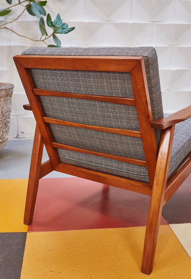 Butaca-años 60- danesa- midcentury- vintage-la victoriana
