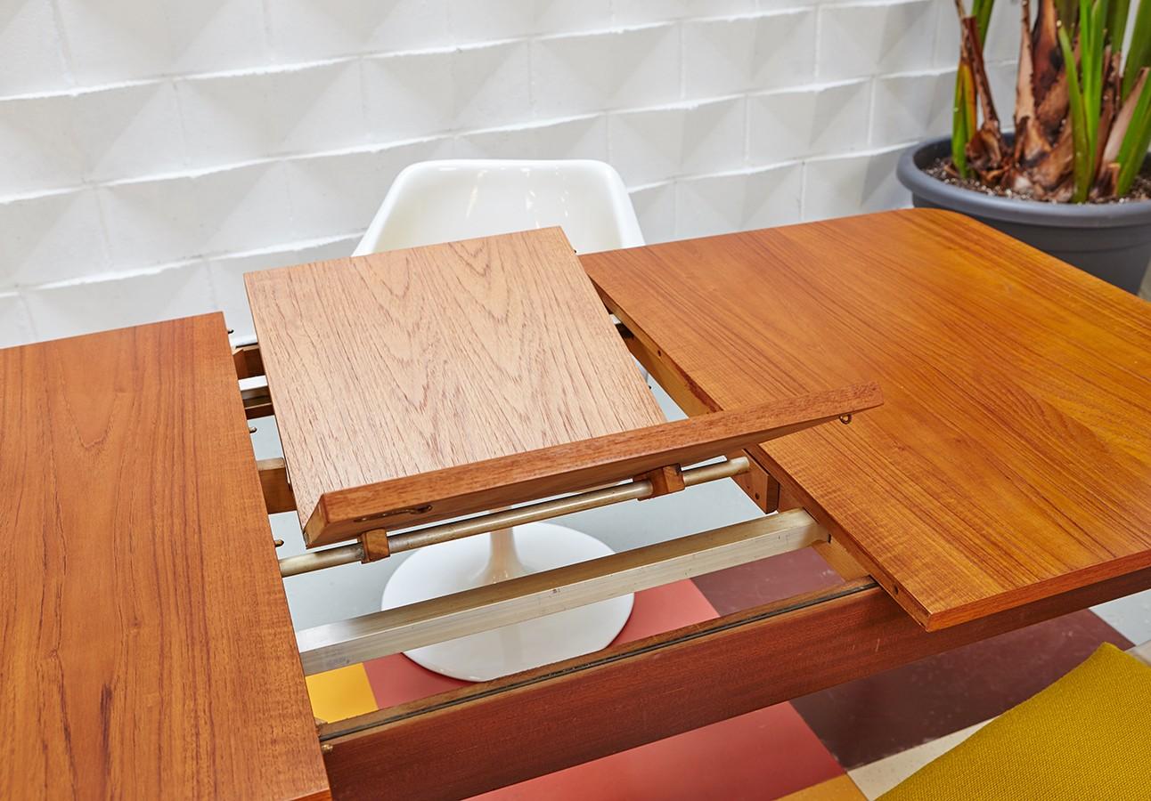 mesa-comedor-años 70-extensible-vintage-lavictoriana