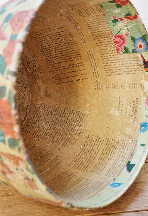 cubo-decorativo-papel maché-la victoriana