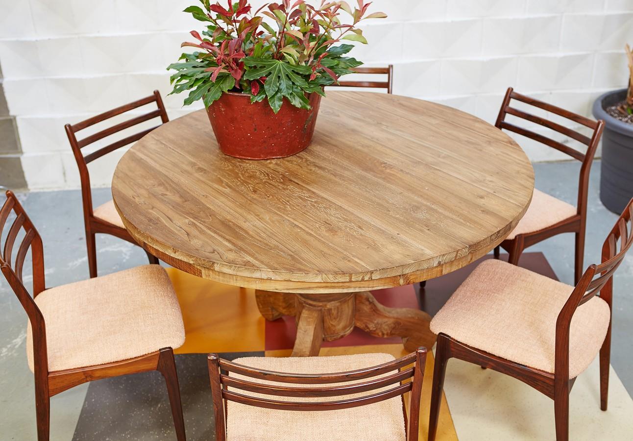 mesa-redonda-vintage-teca antigua-old teak-la victoriana