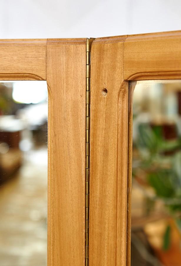 Espejo-tres cuerpos-madera-vintage-la victoriana