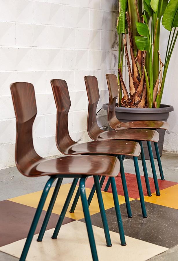 sillas-school chairs-obo-eromes -vintage-años 70-la victoriana