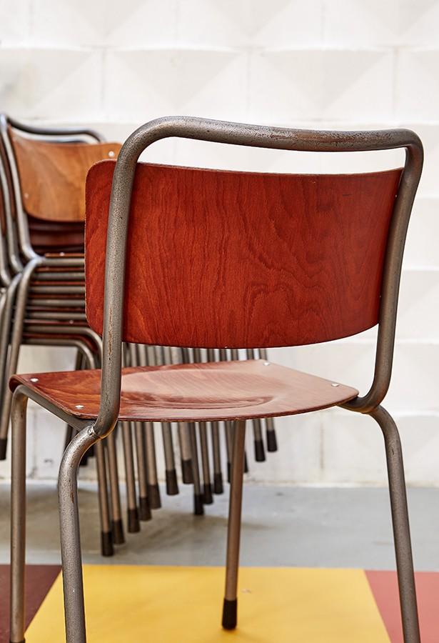 sillas-school chairs-gispen-vintage-años 50-la victoriana