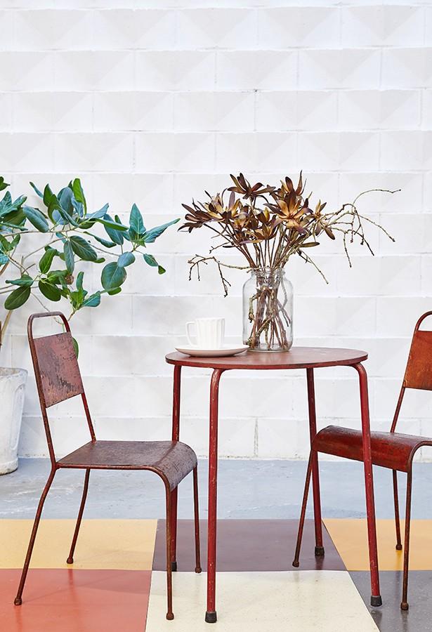 silla-hierro-jardin-vintage-la victoriana