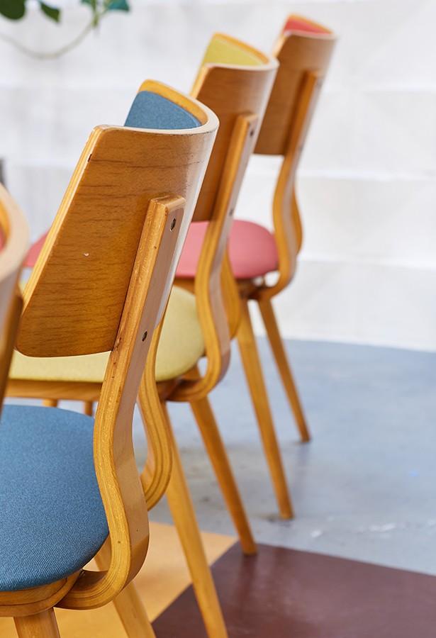 conjuntosillas-años60-haya-escai-vintage-lavictoriana