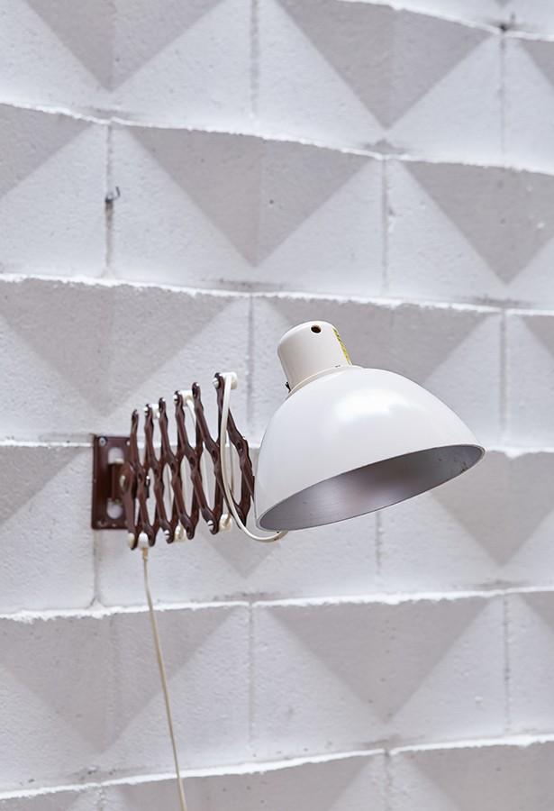Lámpara tijera años 60