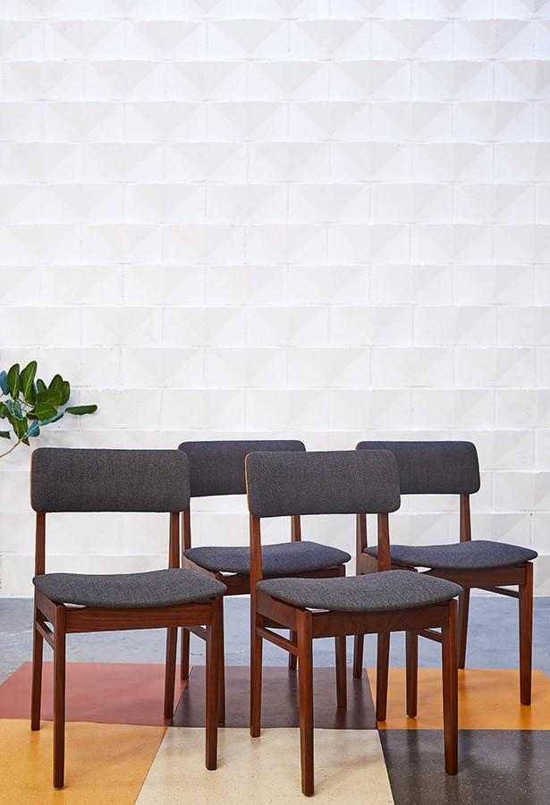 Conjunto de sillas teca