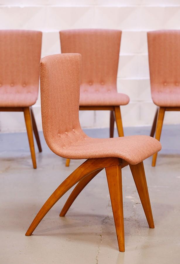 Set de 4 sillas Van Os