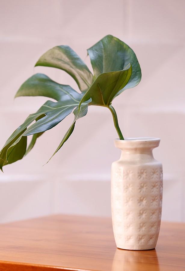 Jarrón de porcelana alemana