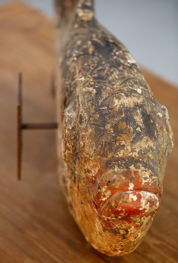 Pez de madera