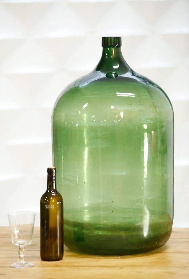 Garrafa vidrio soplado